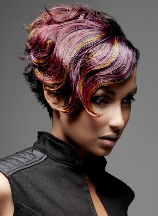 kreativ yaradıcı saç fasonları