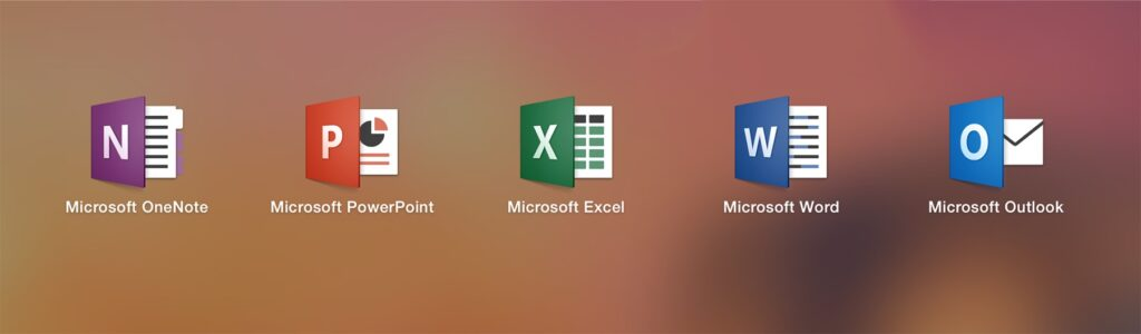 Ofis proqramları Windows, Word, Excel, PowerPoint