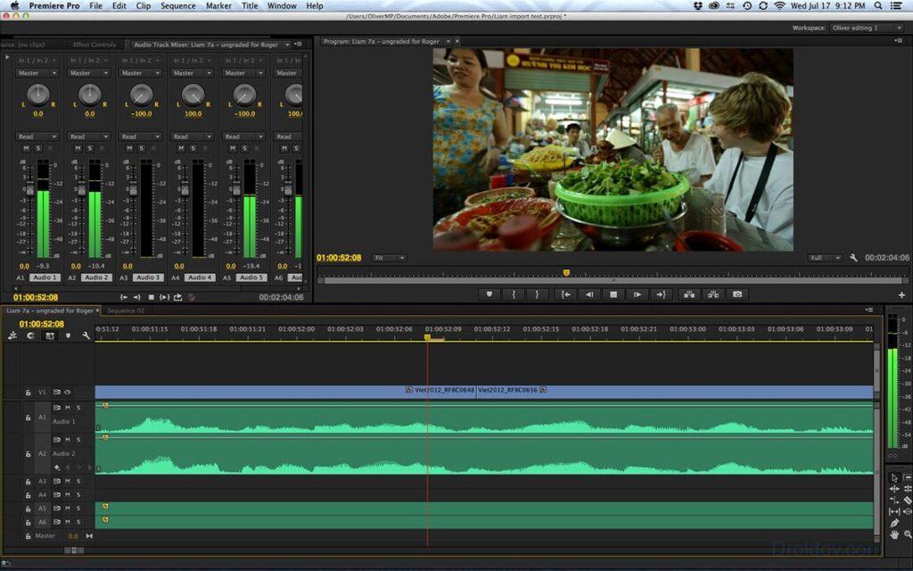 Kompüter video və audio montajı